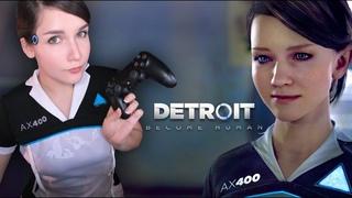 Detroit: Become Human [#1] - Стрим KittyKlaw запись от   [Cosplay Detroit Kara]