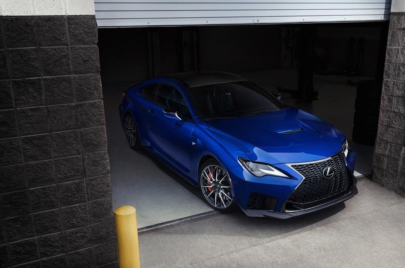 Обновленный Lexus RC F и трековая версия из карбона, изображение №4