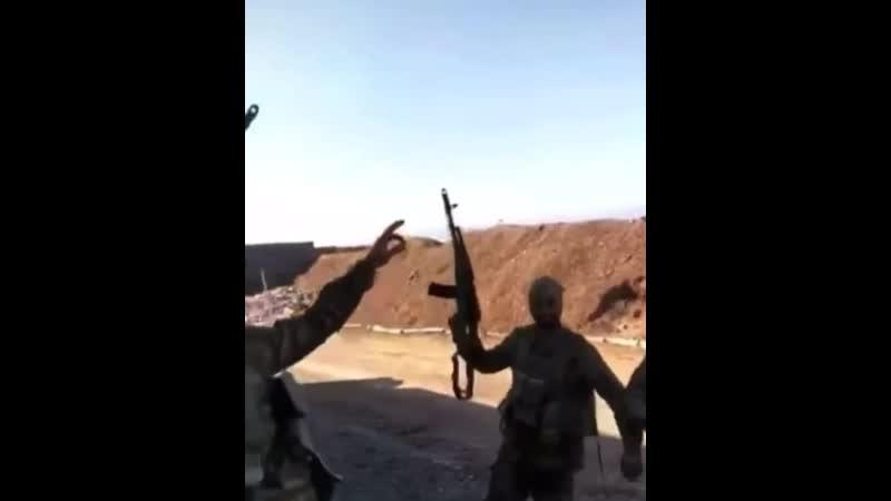 Азербайджанские бойцы в Карабахе 😂👍