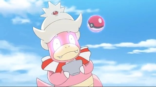 Pokemon Journeys Slowking Doesn't Want To Be Caught