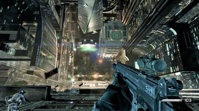 Потрясная Стелс Миссия на НЕБОСКРЕБЕ Из Игры Call of Duty Ghosts