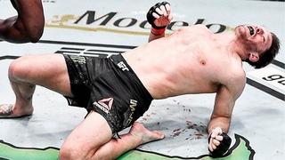 Жесткий нокаут! Нганну вырубил Миочича / Лучшие моменты боя и нокаут на UFC 260