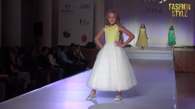 Всероссийский фестиваль моды FASHION STYLE KIDS 2020 Sunny Day