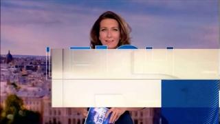Bug dans le 13h du 7 février «la voix d'Anne claire coudray en avance sur les images de titres»TF1