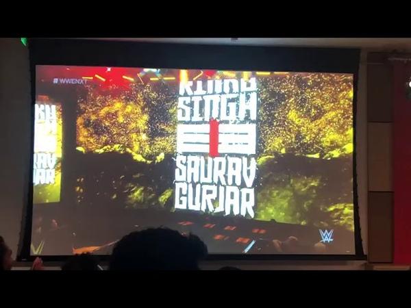Indian Wwe Supersuper Great Rinku Singh Rajput great saurav Gurjar 🤟Namastey 🙏