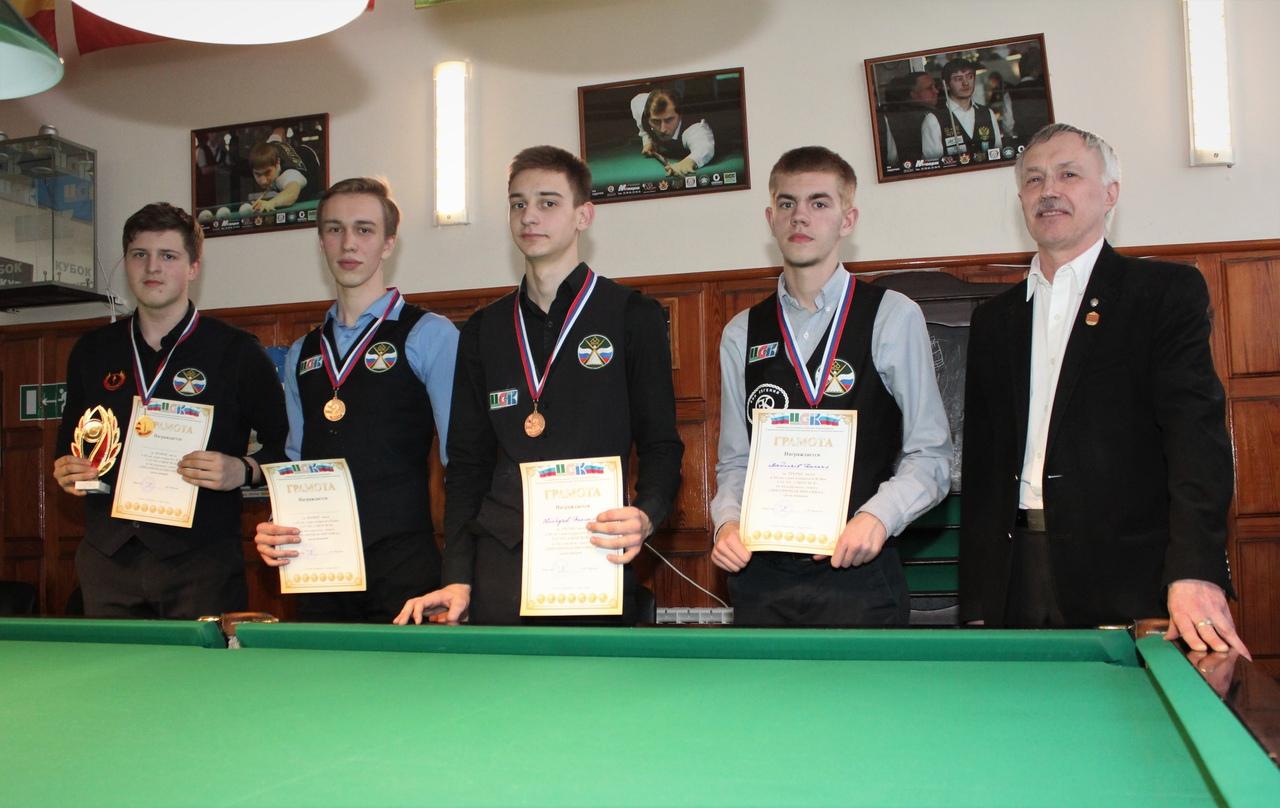 юниоры призёры