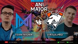 🔴Team Nigma vs    WePlay AniMajor [RU Tekcac]