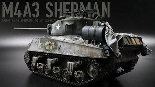 Sherman M4A3 Winter Camouflage | The Inner Nerd