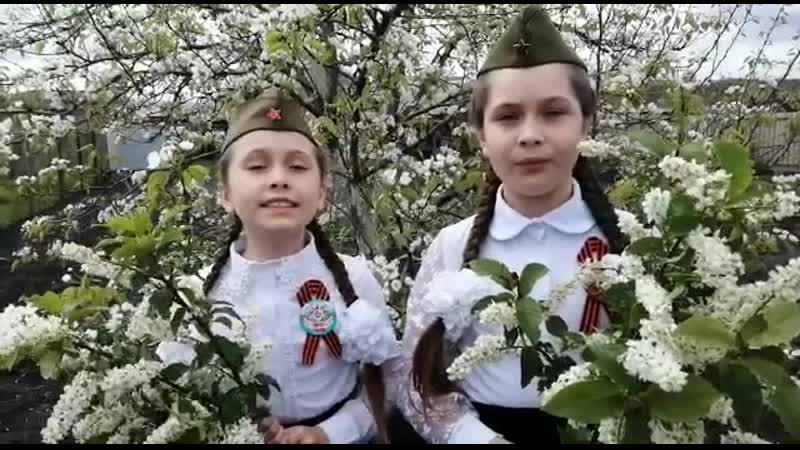 Винокуровы Вероника и Виктория МБОУ СШ№8 г Ельца