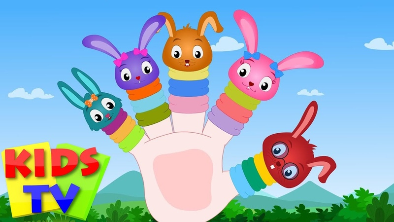 Finger Family Bunny Nursery Rhymes For Toddlers Cartoons For Babies by Kids Tv