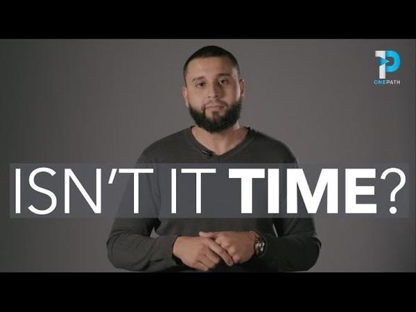 Isn't it TIME