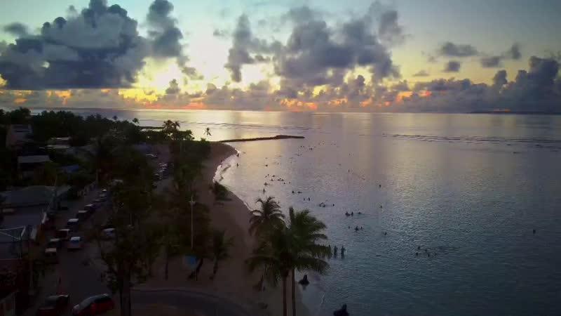 Гваделупа рассвет 18 ноября 6 утра