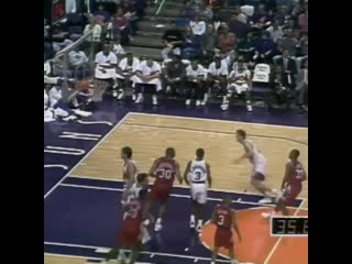26 years ago today, 7-foot-7 Manute Bol was feeling it from deep, draining 6 threes in a half