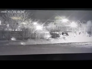 Turkish HIZIR/ATES border surveillance vehicle, tugging the Greek border fences last night