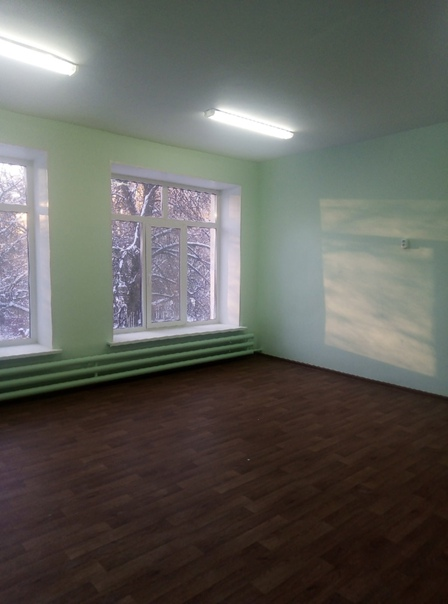 Завершается ремонт здания, выделенного для размещения МБОУ Д