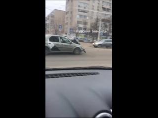 Обычная поездка на такси в Белгороде