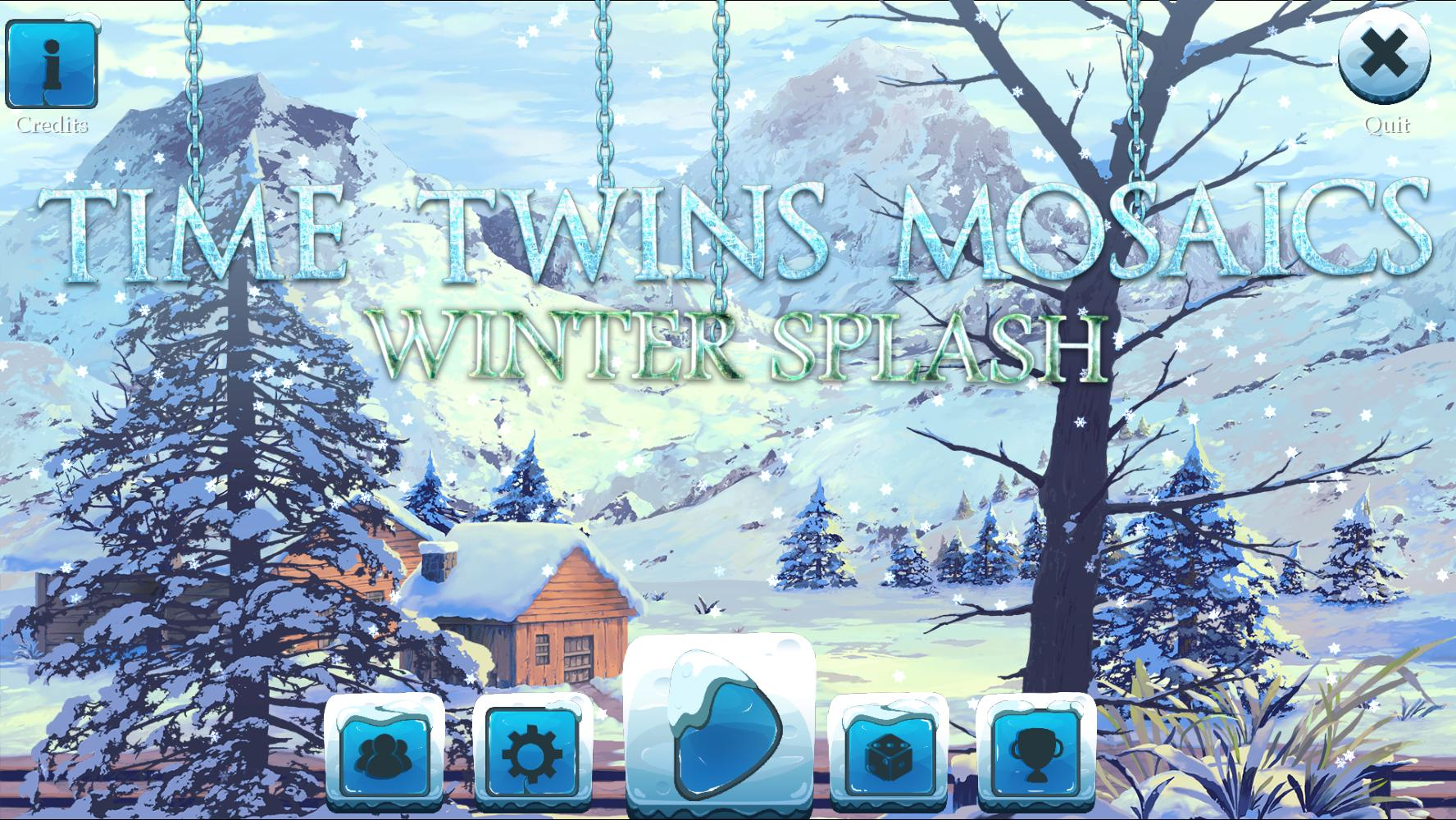 Time Twins Mosaics 4: Winter Splash (En)