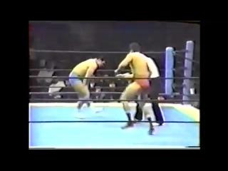 Minoru Suzuki vs Takayuki Iizuka (3_16_1989) NJPW