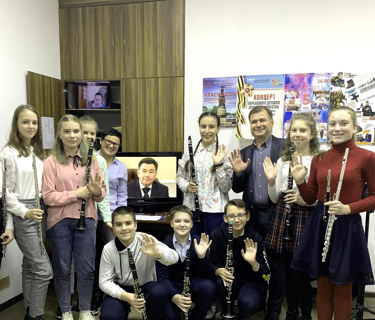 Профессионализм юных исполнителей из Донецка отмечен на всероссийском уровне