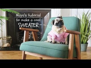 Maya's Tutorial to make a COOL sweater - May 3, 2017 / marzia
