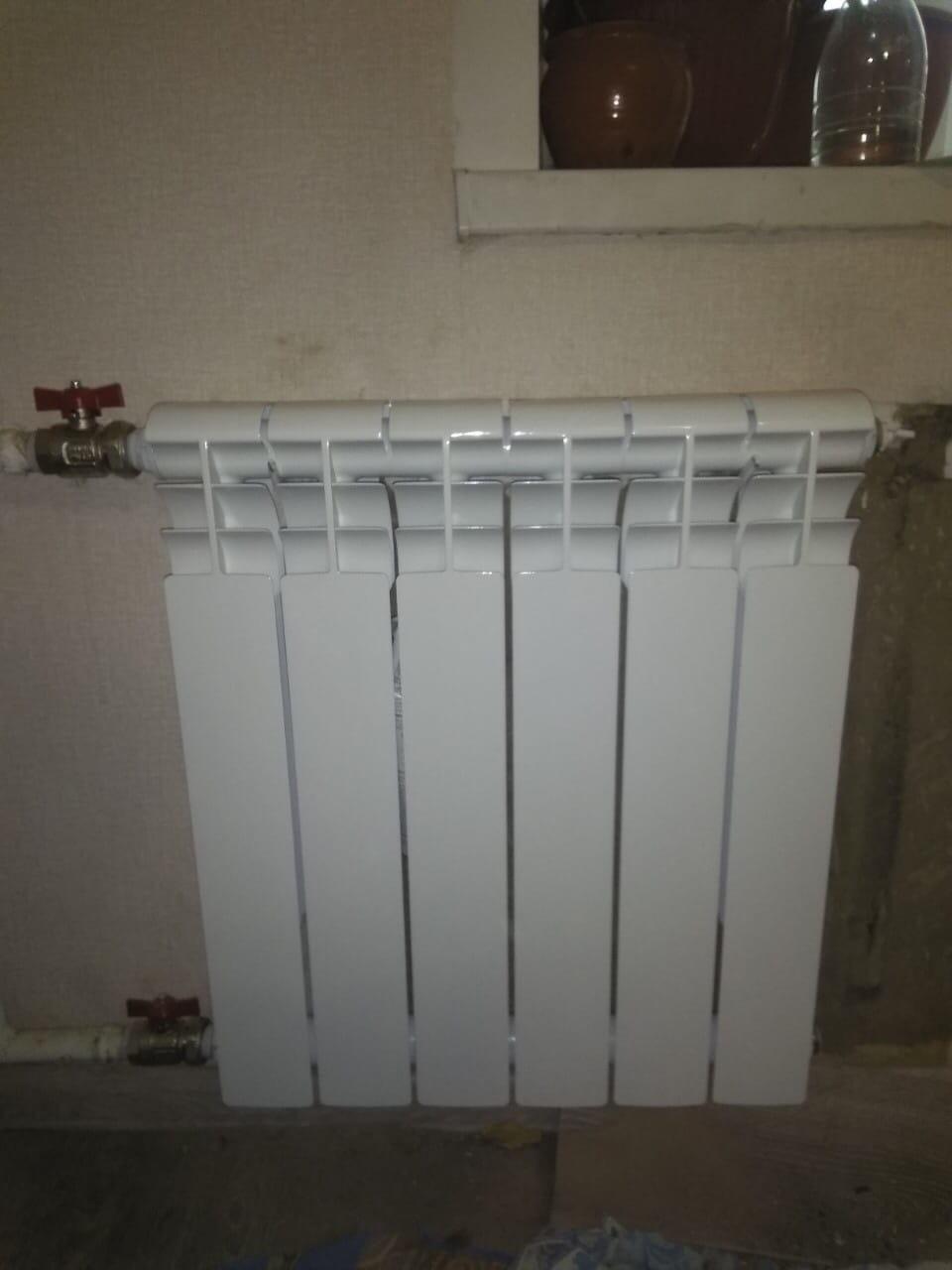 Улица Кольцова дом 13-7 замена радиатора до