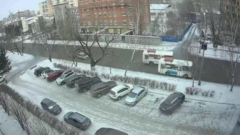 Автобусики в Томске.