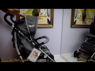 Видео-обзор детской коляски-трости Maxima Carello M4 (Максима Карелло М4)