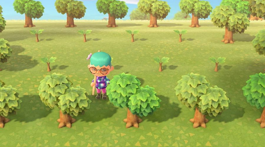 Animal Crossing колья из бревна