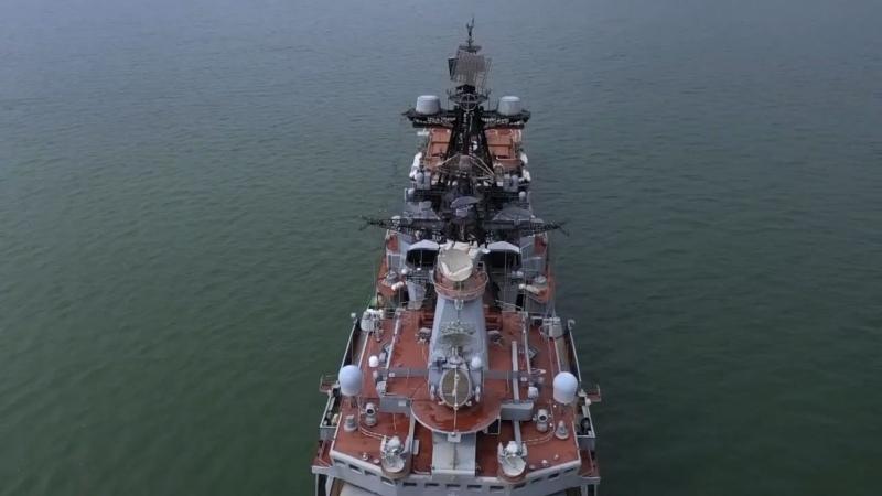 В центральной части Тихого океана проходят учения корабельных тактических групп Тихоокеанского флота