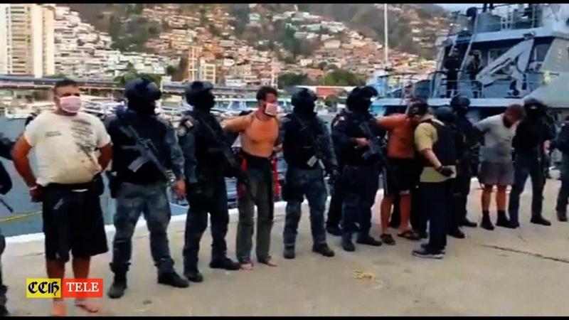 CCHTV Полное видео оперативной съемки задержания боевиков Гедеона в Венесуэле 04 05 2020