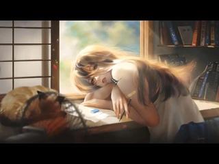 Lofi homework girl ¦ lofi chill beat music 1 hour chill lofi  aesthetic