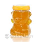 Мед фасованный пл.банка «Медвежонок» 0,15 кг