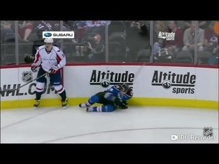 NHL: Biggest hits by Alex Ovechkin
