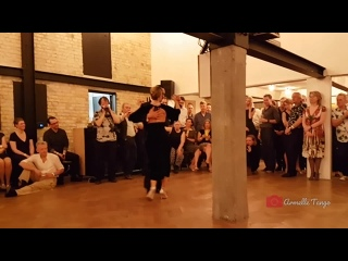 Fausto Carpino  Stephanie Fesneau ❤Asi Se Baila El Tango @ Festivalito de Brujas 2019 -DJ J. Maerke