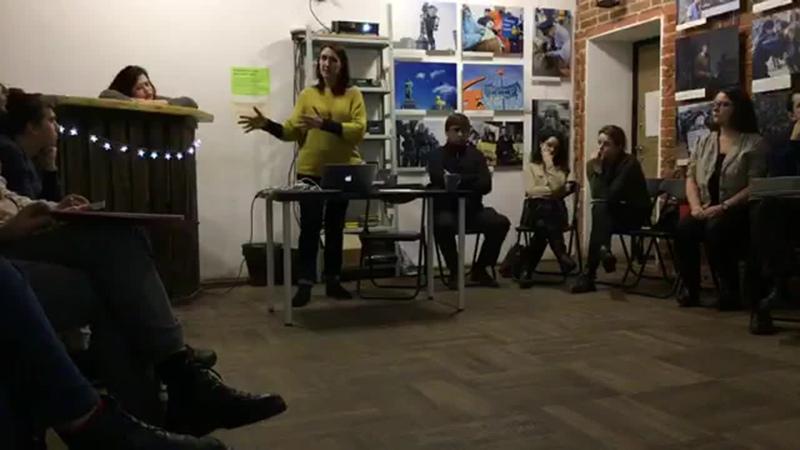 Семинар Галины Араповой Выйти в сеть и не сесть в Доме прав человека Воронеж