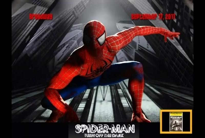 Spider Man Turn off the Dark Broadway New Victory theatre 2011