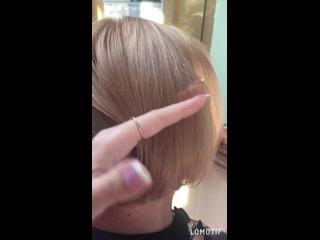 Blond platinum brown
