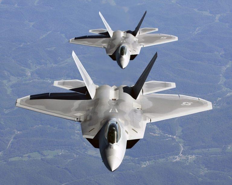 ИСТРЕБИТЕЛЬ ПЯТОГО ПОКОЛЕНИЯ F-22 RAPTOR, изображение №3