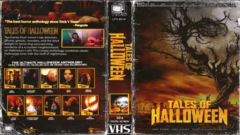 Байки про Хэллоуин Tales of Halloween 2015 Перевод ДиоНиК