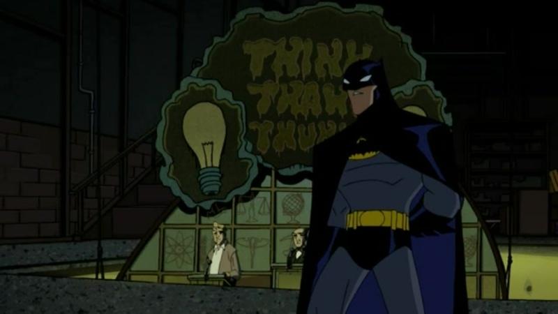 The Batman Бэтмен 2004 2008 Сезон 1 Серия 8 Q A дубляж Пифагор РЕН ТВ