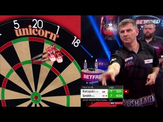 Krzysztof Ratajski vs Michael Smith (PDC World Matchplay 2020 / Quarter Final)