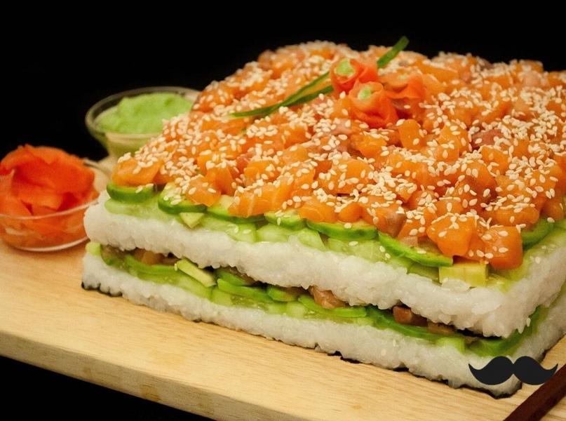 """Восхитительный салат """"суши"""""""