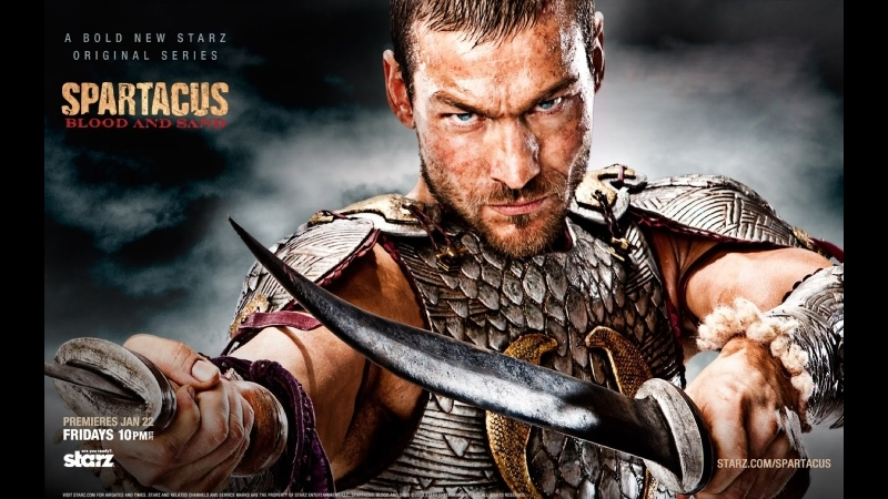 VHS Forever Спартак Spartacus Blood And Sand сериал 2010 2013 1 сезон