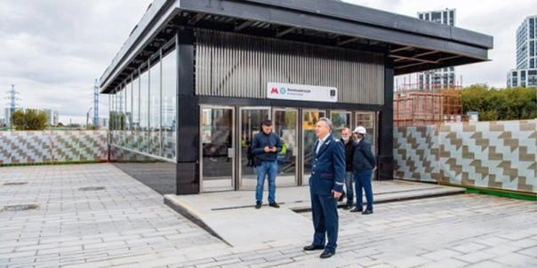 Какой будет территория возле станции БКЛ «Аминьевс...