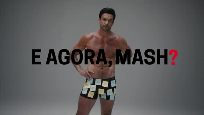 Сержио Мароне в рекламе нижнего белья