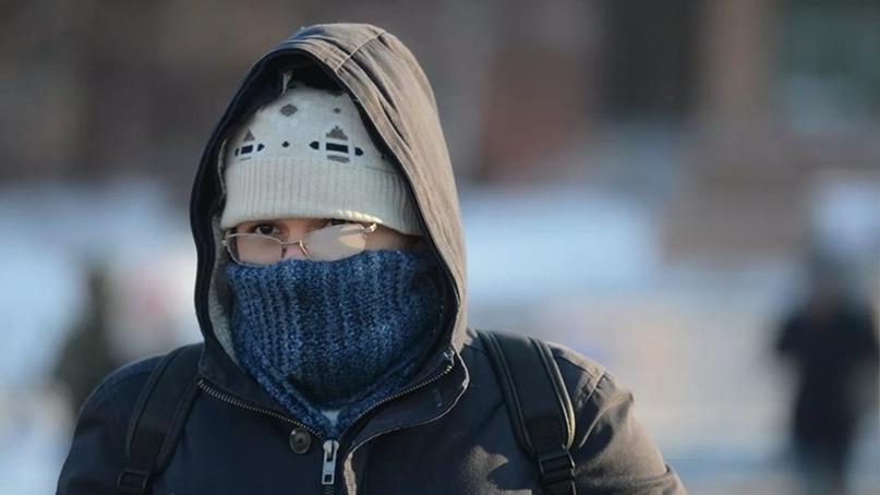 В ХМАО к концу недели ожидается метель с порывами ветра до 18 м/с и похолодание...