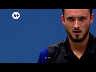 Медведев против Тима в полуфинале US Open