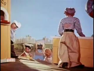"Excerpt from ""Silent pier"" Soviet puppet animation film, 1957"