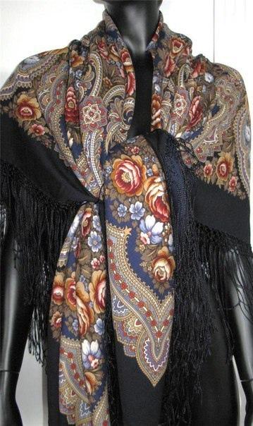 павлопосадские платки снятые с производства