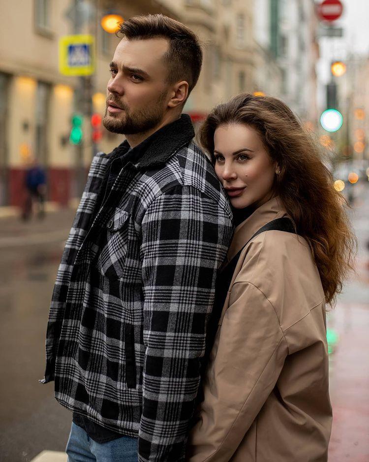 Фотосет Ольги Ветер с ее новым другом